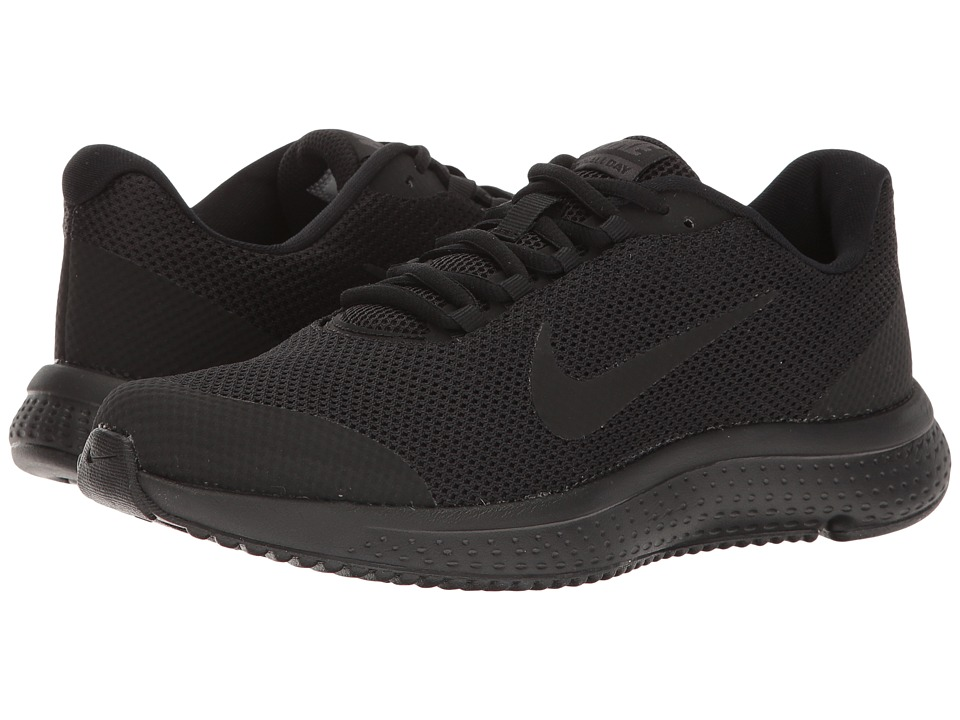 Nike RunAllDay (Black/Black/Anthracite) Women's Running S...