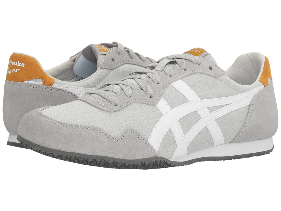Onitsuka Tiger by Asics Serrano (Mid Grey/White) Classic Shoes