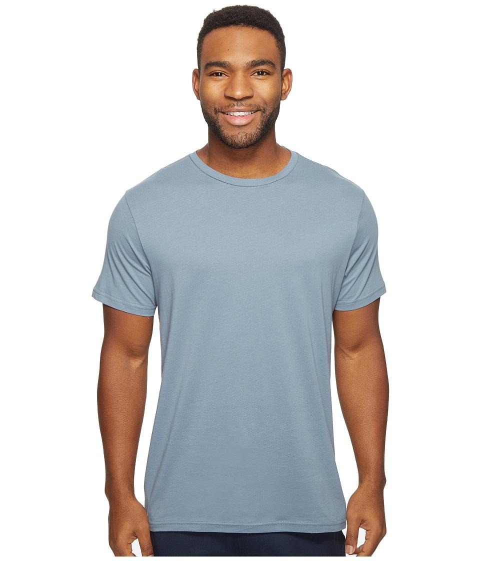 Volcom Solid Short Sleeve T-Shirt (Ash Blue) Men
