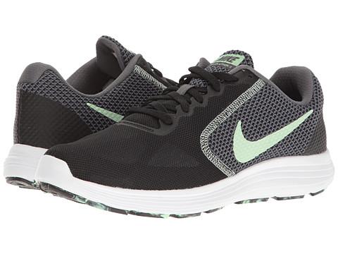 Nike Revolution 3 - Black/Fresh Mint/White/Dark Grey
