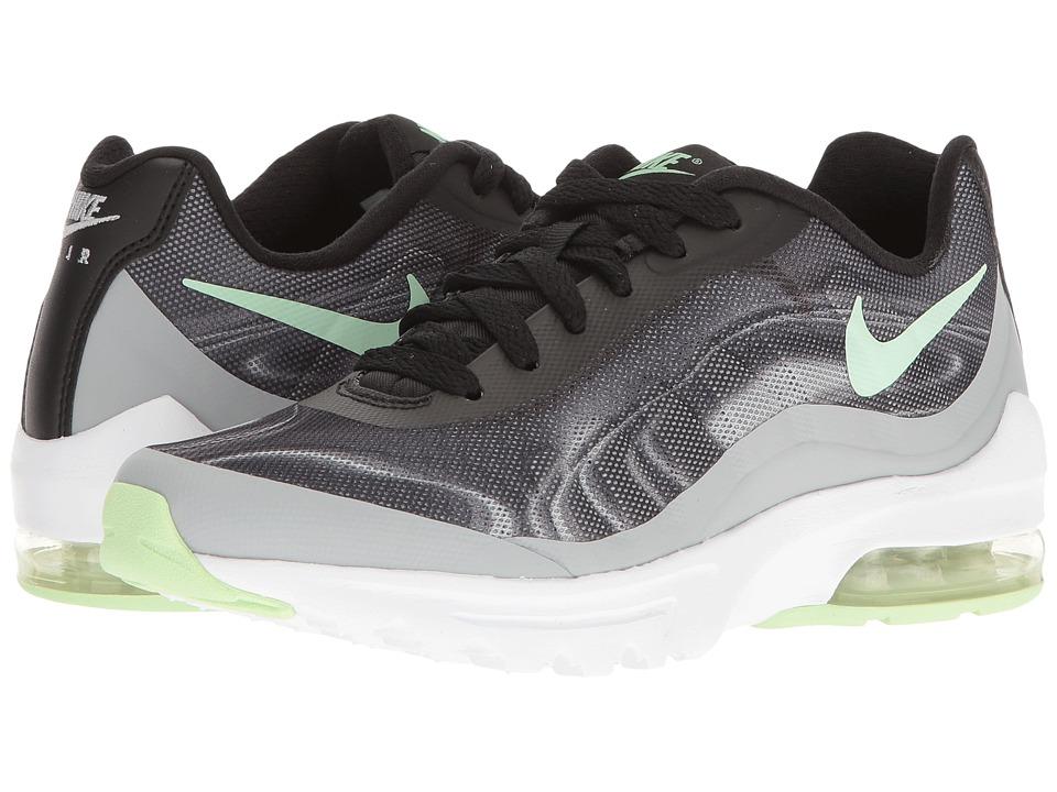 Nike - Air Max Invigor Print (Black/Fresh Mint/Wolf Grey/Racer Pink) Womens Classic Shoes