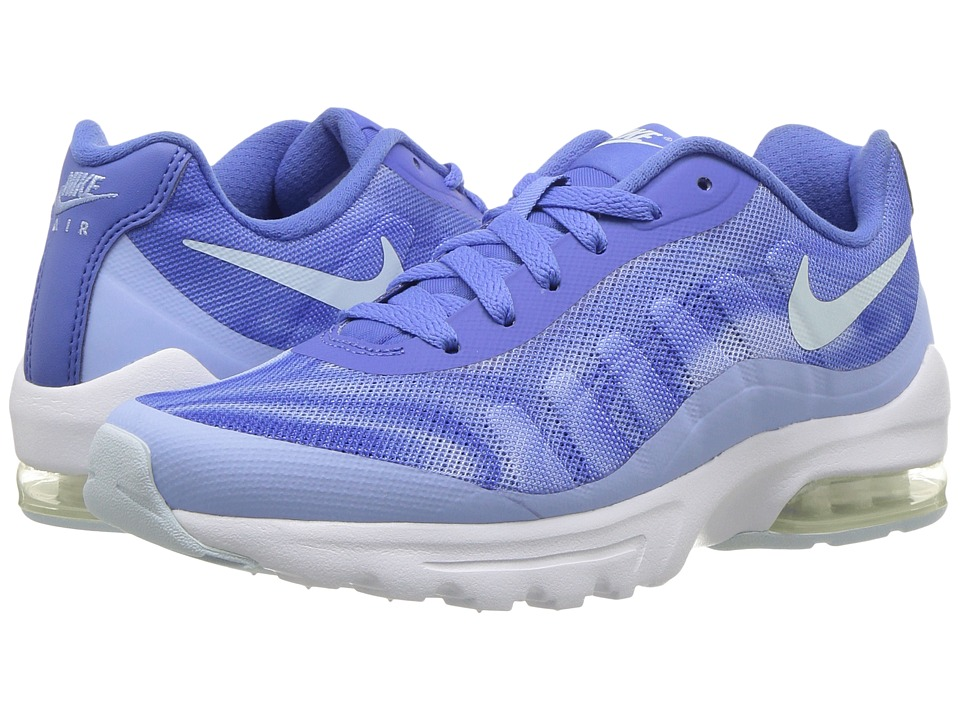Nike - Air Max Invigor Print (Comet Blue/Glacier Blue/Aluminum) Womens Classic Shoes