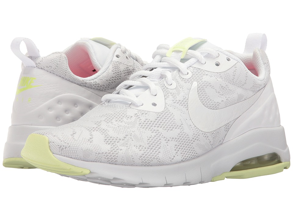 Nike Air Max Motion LW ENG (White/White/Barely Volt/Racer Pink) Women