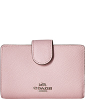 COACH - Crossgrain Leather Medium Corner Zip Wallet