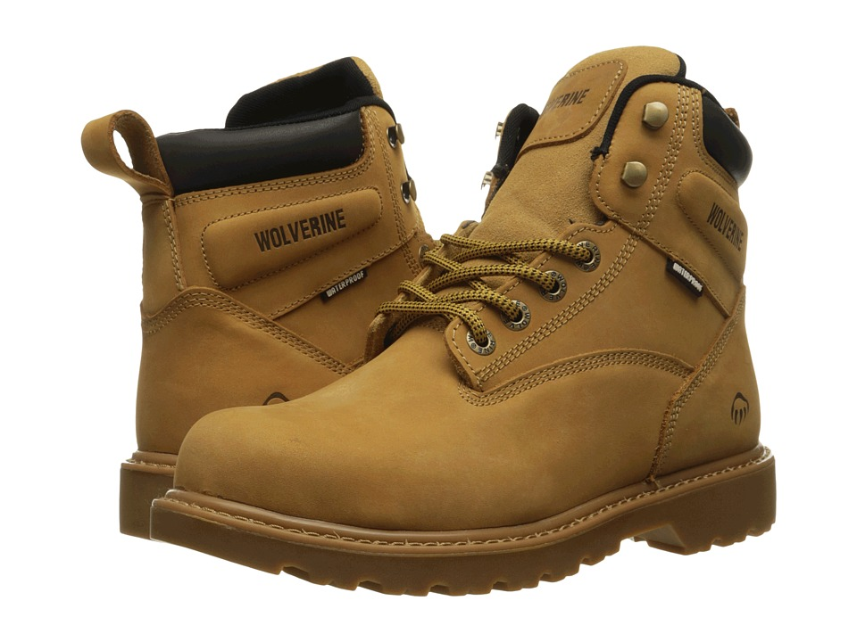 Wolverine Floorhand Steel Toe (Wheat) Men