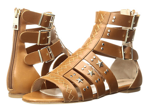 Just Cavalli Leather Star and Stud Sandal