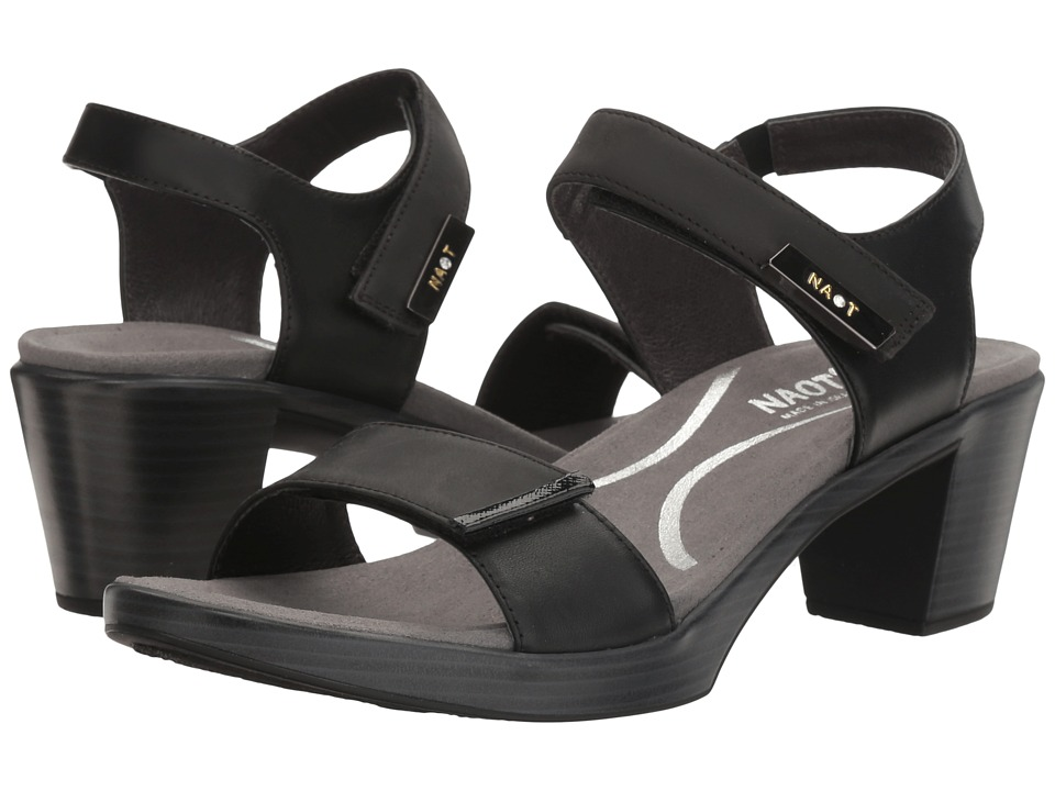 Naot Footwear Intact (Oily Coal Nubuck/Black Raven Leather/Black Luster Leather) Women