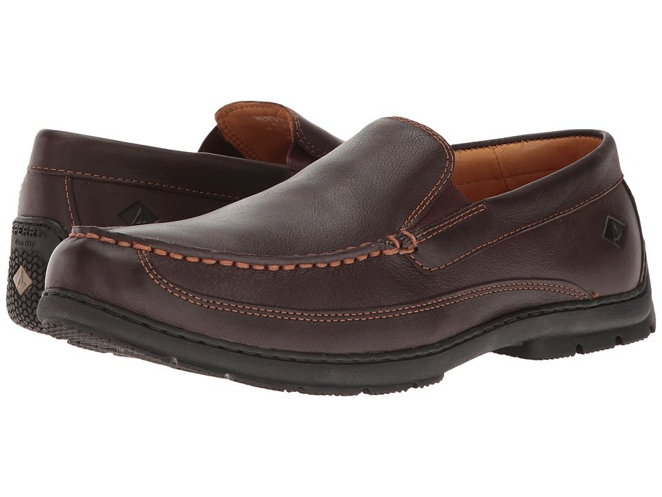 Sperry Top-Sider Gold Loafer Twin Gore (Brown) Men's Shoes