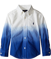 Polo Ralph Lauren Kids - Oxford Dip-Dye Shirt (Toddler)