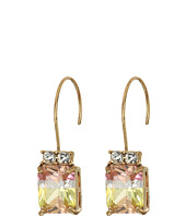 Betsey Johnson - Pink Tourmaline Drop Earrings