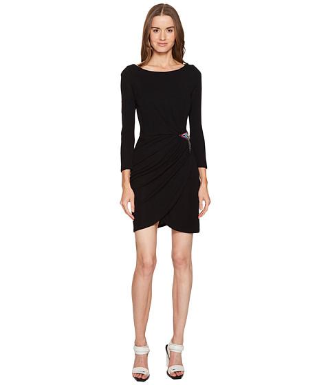 Just Cavalli Long Sleeve Jersey Star Dress