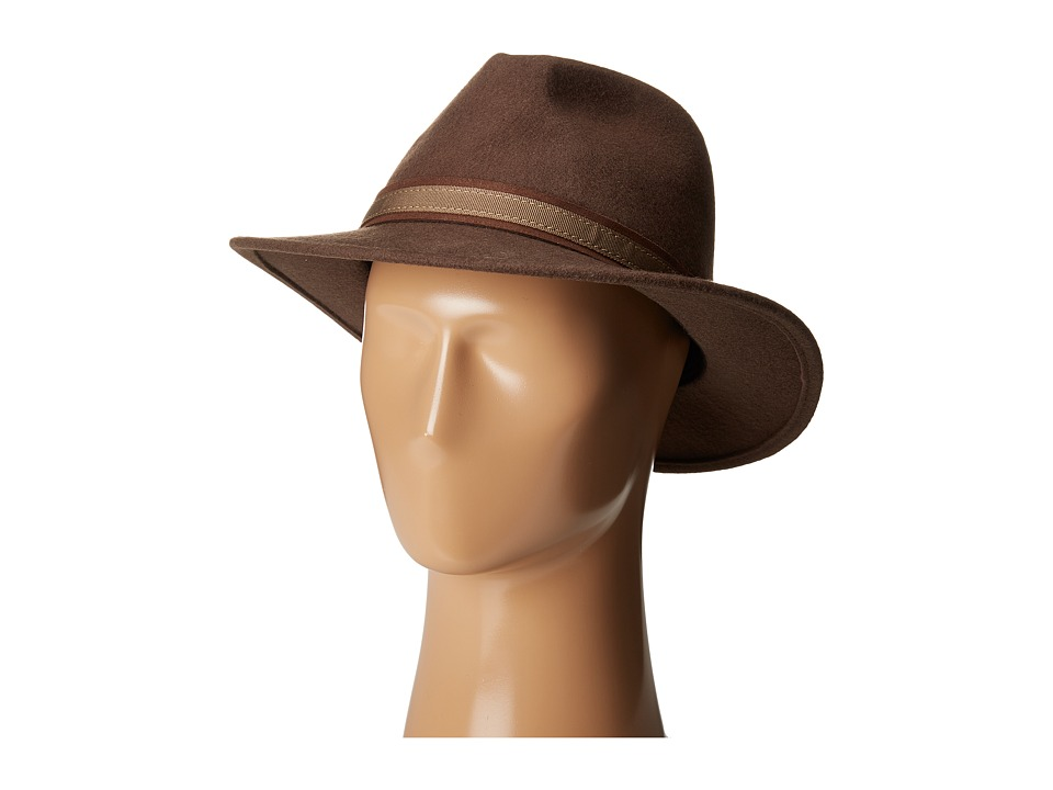 SCALA - Wool Felt Safari with Overlay (Khaki) Safari Hats