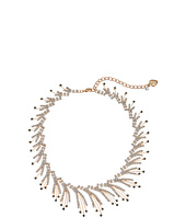 Betsey Johnson - Crystal/Gold Spray Frontal Necklace