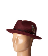 Stacy Adams - Pinched Fedora with Stitched Band