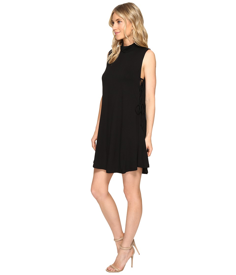 Culture Phit Nola Sleeveless Dress with Tie-Up Sides (Black) Women