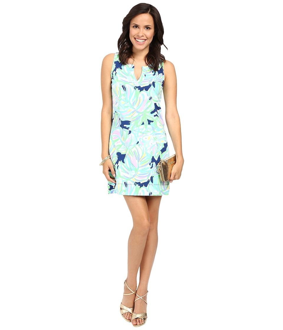Lilly Pulitzer Estrada Shift Dress (Resort Navy Uptown Trunk) Women