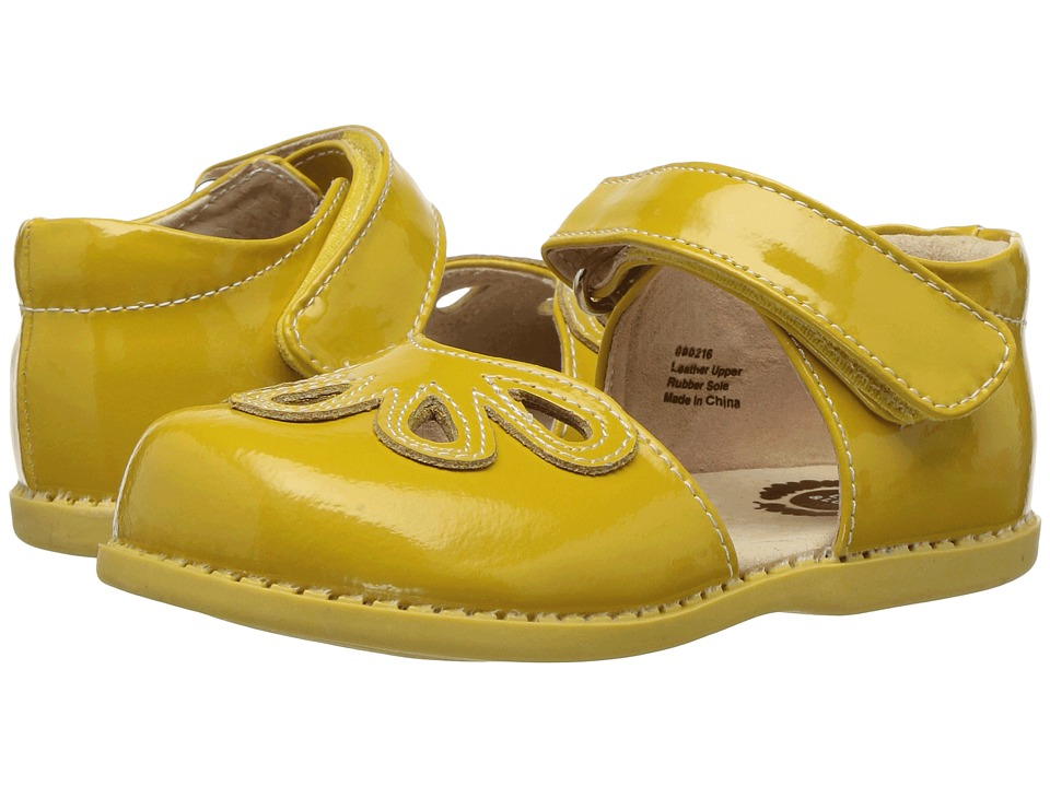 Livie & Luca - Petal (Toddler/Little Kid) (Yellow 1) Girls Shoes