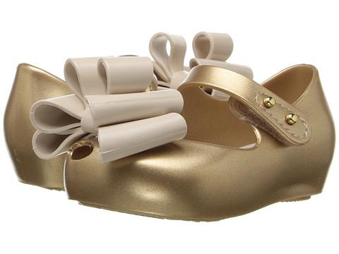 Mini Melissa Mini Ultragirl Sweet III (Toddler/Little Kid) - Gold Glitter
