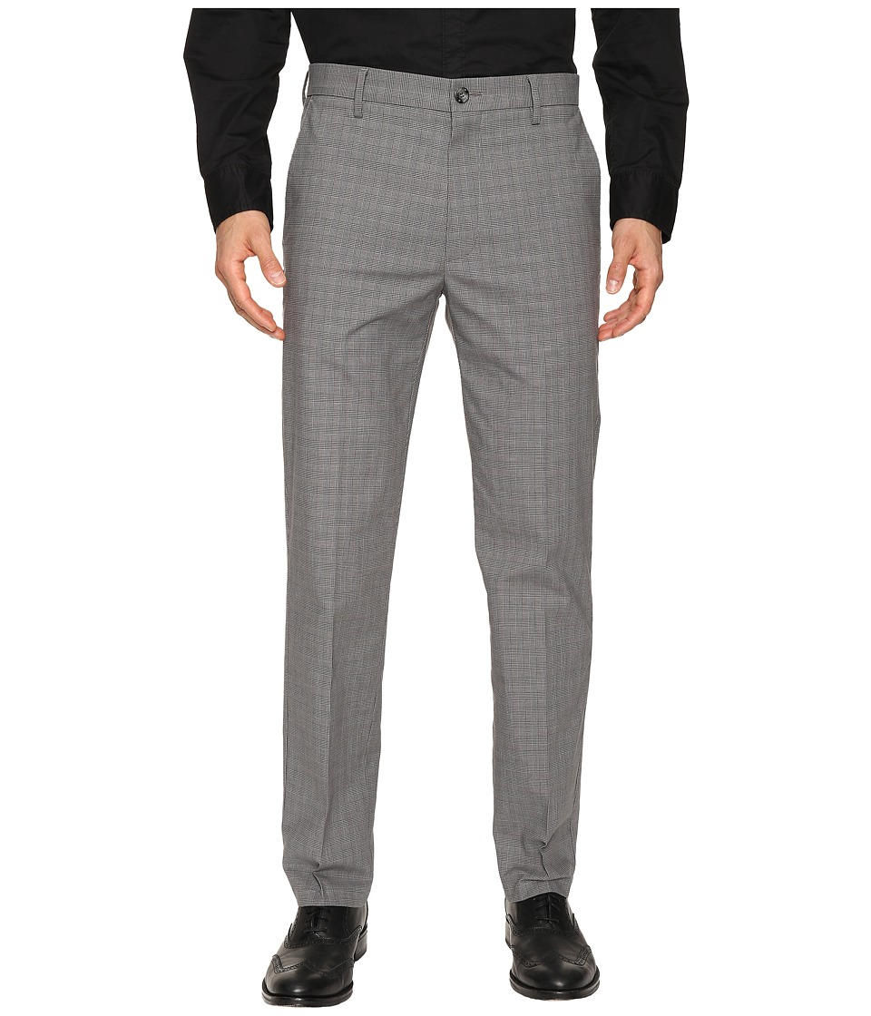 Dockers - Signature Khaki D1 Slim Fit Flat Front (Guzman A Good Foil Plaid Stretch) Mens Dress Pants