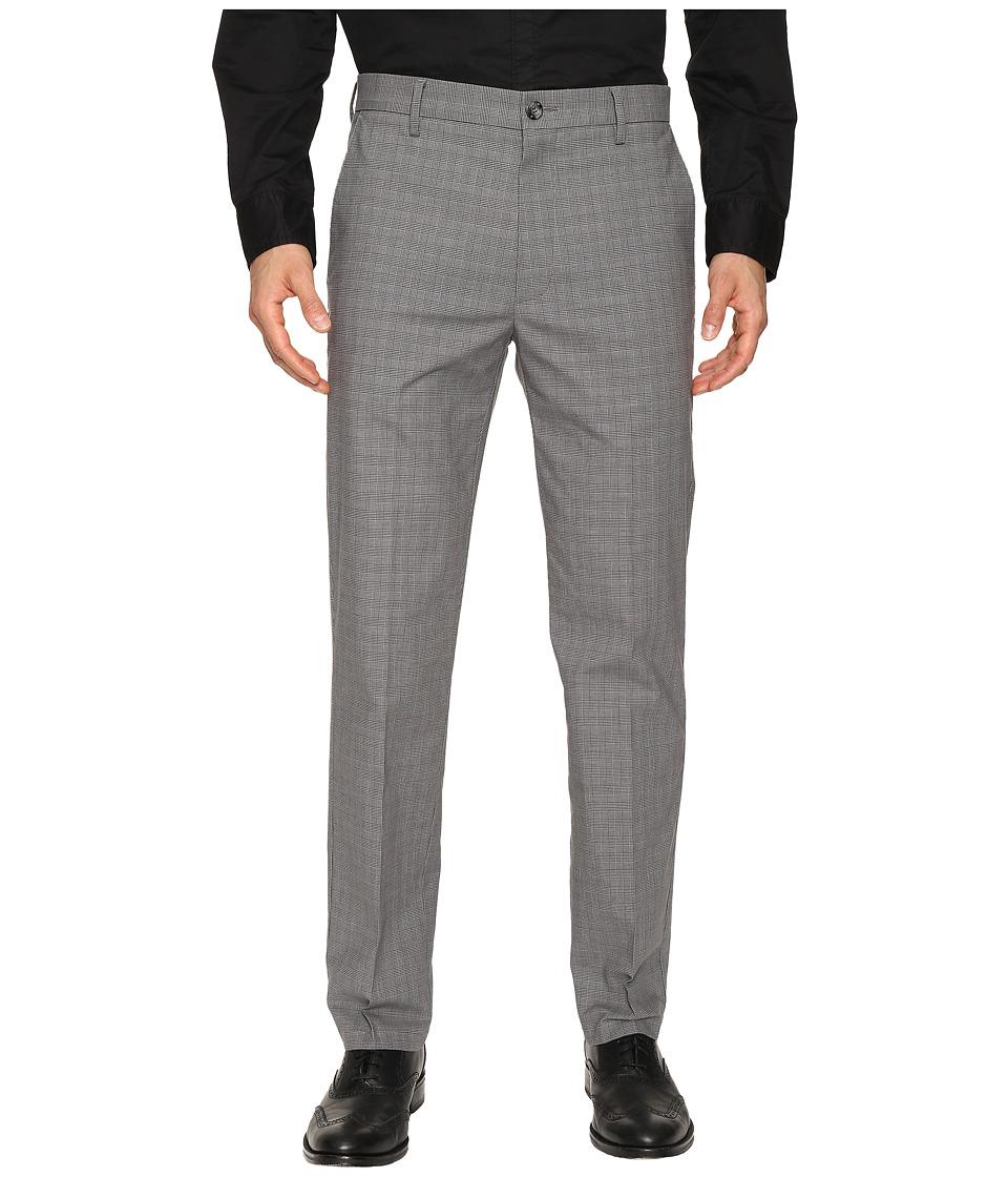 Dockers - Signature Khaki D1 Slim Fit Flat Front (Guzman A Good Foil Plaid Stretch) Mens Dress Pants