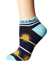Life is good - Tossed Suns Low Cut Socks