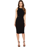 Versace Collection - High Neck Sleeveless Knit Dress
