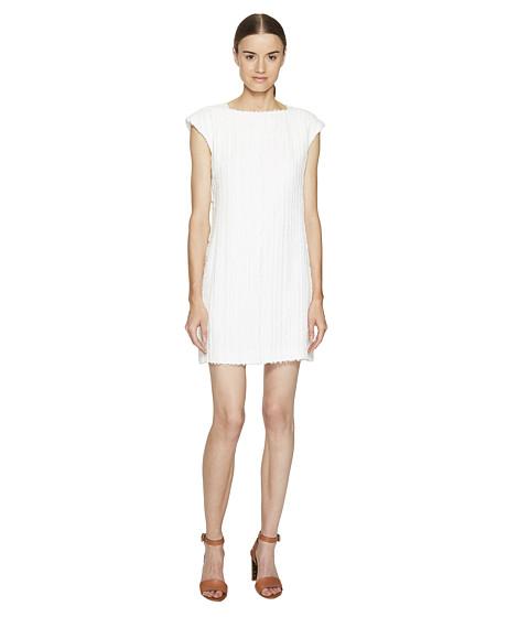 Versace Collection Short Sleeve Woven Dress