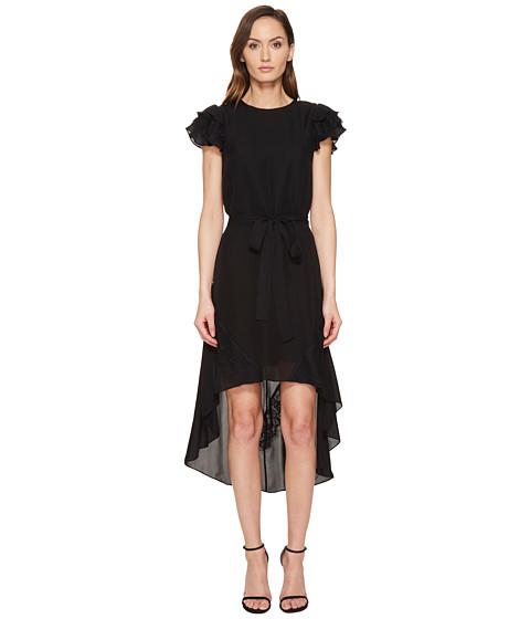 THOMAS WYLDE Tori - High-Low Short Sleeve Dress