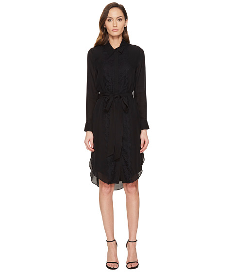 THOMAS WYLDE Phylicia - Long Sleeve Button Down Dress
