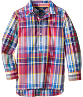 Polo Ralph Lauren Kids - Yarn-Dyed Poplin-Popover Top (Little Kids)
