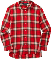Polo Ralph Lauren Kids - Feather Weight Twill Plaid Shirt (Big Kids)