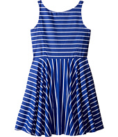 Polo Ralph Lauren Kids - Yarn-Dyed Cotton Sateen Stripe Dress (Big Kids)