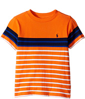 Polo Ralph Lauren Kids - Yarn-Dyed Jersey T-Shirt (Toddler)