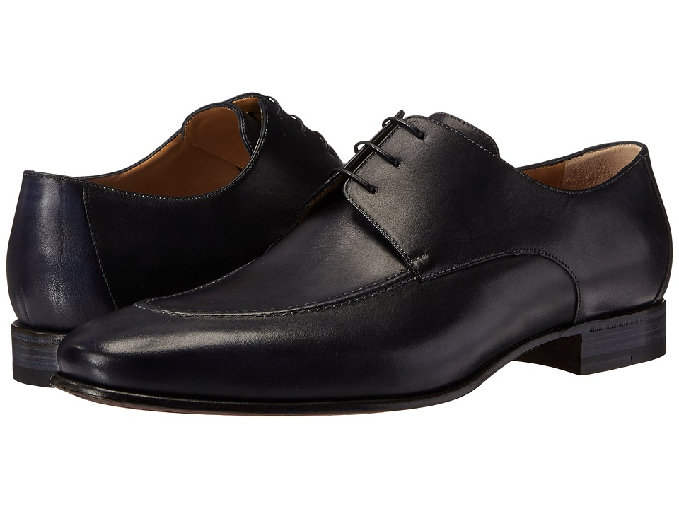 a. testoni - Delave Calf Derby (Navy) Mens Shoes