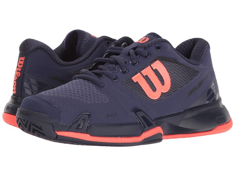 Wilson - Rush Pro 2.5 (Astral Aura/Evening Blue/Fiery Coal) Womens Tennis Shoes
