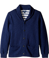 Polo Ralph Lauren Kids - Slub Fleece Shawl Collar Top (Big Kids)