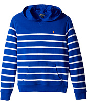 Polo Ralph Lauren Kids - Yarn-Dyed Atlantic Terry Pullover Hoodie (Big Kids)