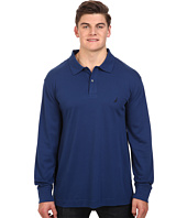 Nautica Big & Tall - Big & Tall Long Sleeve Interlock Polo Shirt