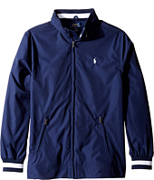 Polo Ralph Lauren Kids - Plain Weave Poly Windbreaker Jacket (Big Kids)