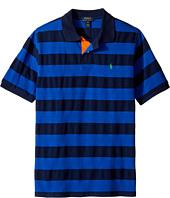 Polo Ralph Lauren Kids - Yarn-Dyed Mesh Stripe Polo Top (Big Kids)