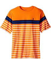Polo Ralph Lauren Kids - Yarn-Dyed Short Sleeve Jersey Tee (Big Kids)