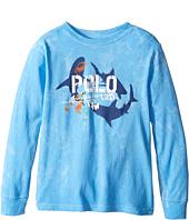 Polo Ralph Lauren Kids - Long Sleeve Basic Jersey Tee (Little Kids/Big Kids)