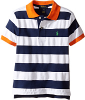 Polo Ralph Lauren Kids - Yarn-Dyed Mesh Striped Polo (Toddler)