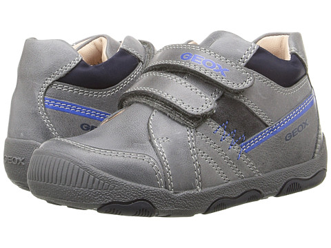 Geox Kids Baby New Balu Boy 3 (Infant/Toddler) - Dark Grey