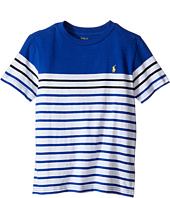 Polo Ralph Lauren Kids - Yarn-Dyed Short Sleeve Jersey Tee (Little Kids/Big Kids)