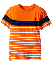 Polo Ralph Lauren Kids - Yarn-Dyed Short Sleeve Jersey Tee (Little Kids/Big Kids)