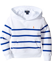 Polo Ralph Lauren Kids - Yarn-Dyed Atlantic Terry Hooded Pullover (Toddler)