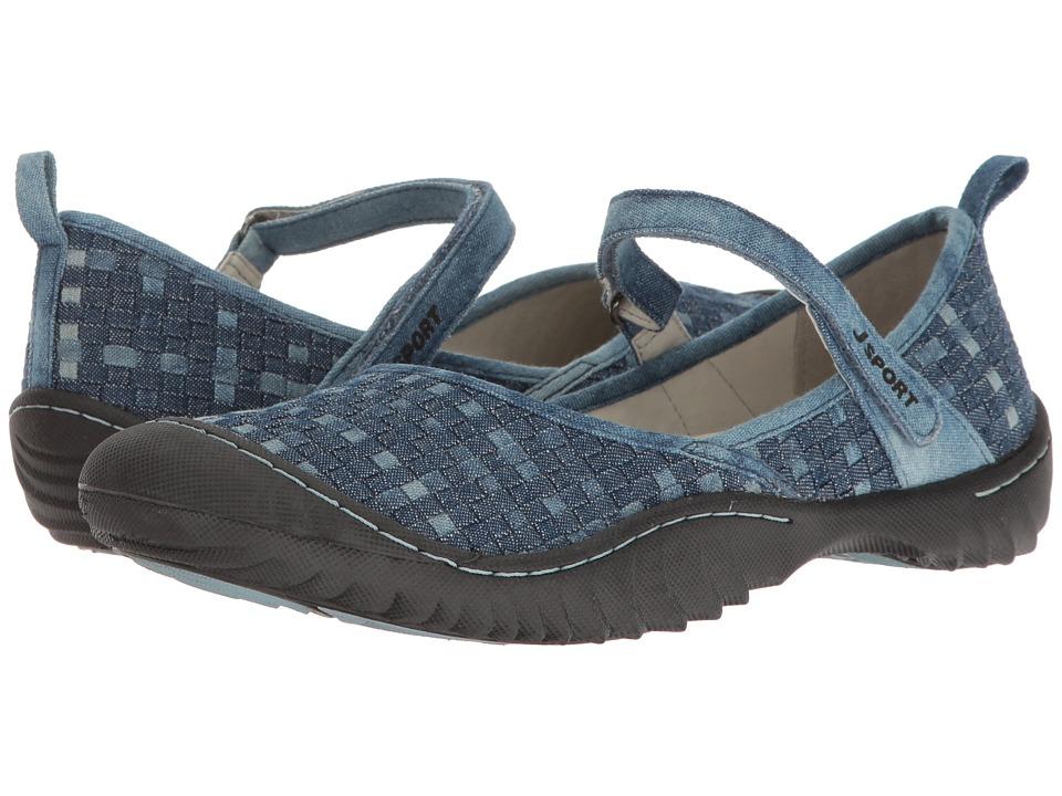 JBU Cara (Denim Woven Fabric) Women's Shoes