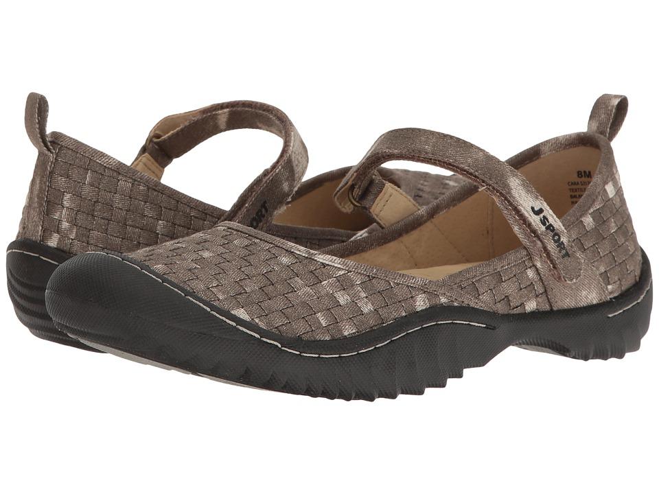 JBU Cara (Bronze Woven Fabric) Women's Shoes
