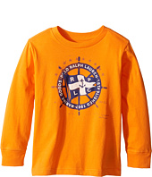 Polo Ralph Lauren Kids - 30/1 Basic Jersey Long Sleeve Graphic Tee (Toddler)